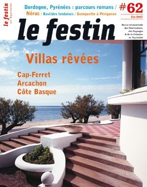 Le Festin #62 - Villas rêvées