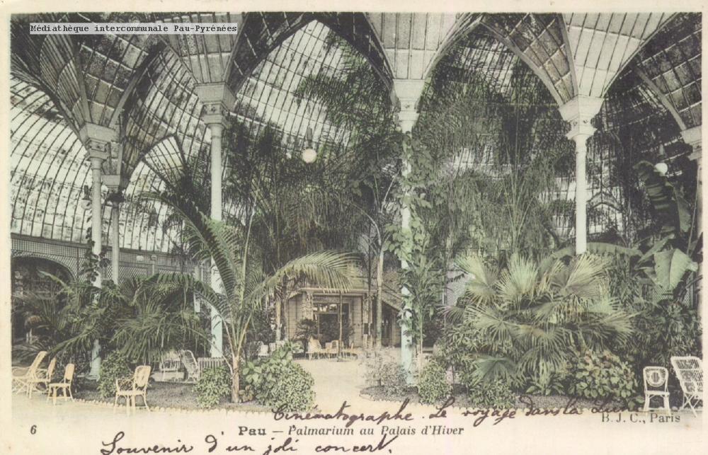 Projet d'un jardin d'hiver au Casino du Midi | Pau | Le Festin #100