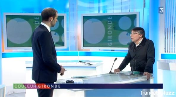 Jean-Pierre Hiéret sur France 3 Aquitaine