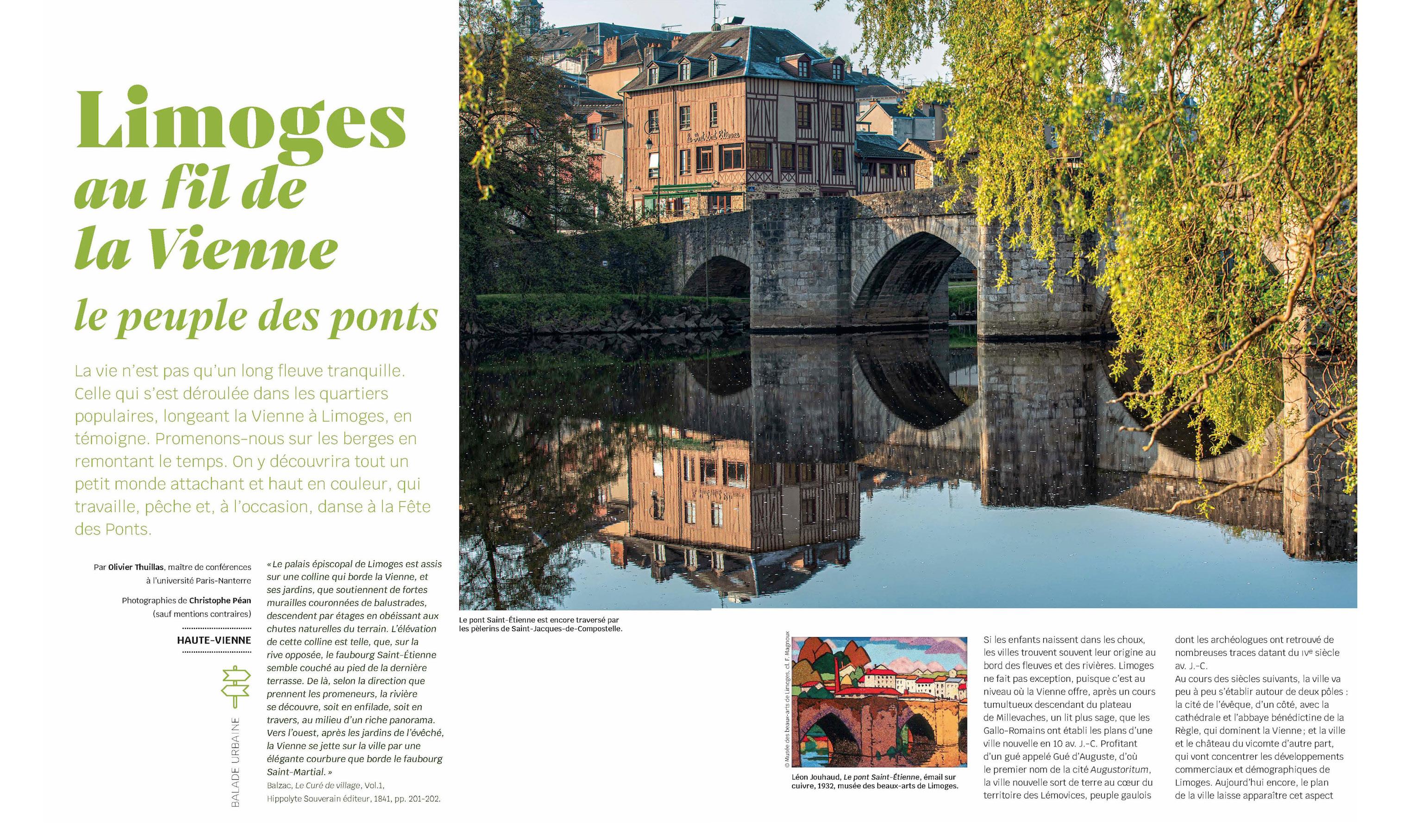 Limoges au fil de la Vienne