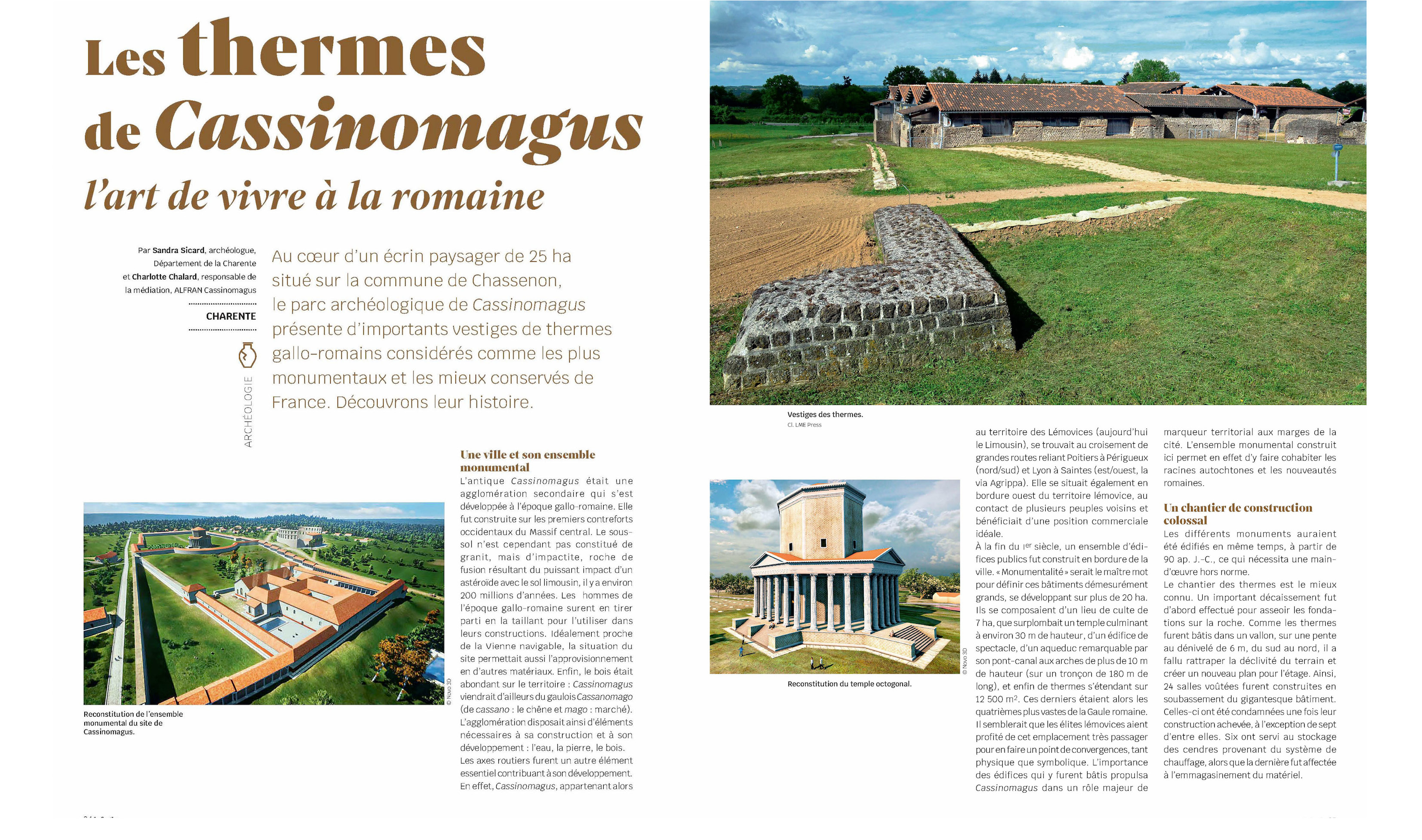 Les thermes de Cassinomagus