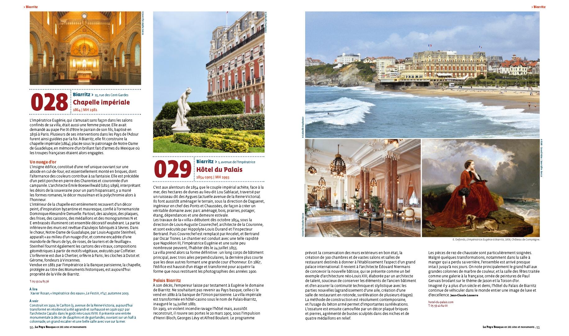 Le Pays Basque en 101 sites et monuments - Le Festin