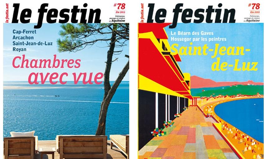 Le Festin#78 - Couvertures