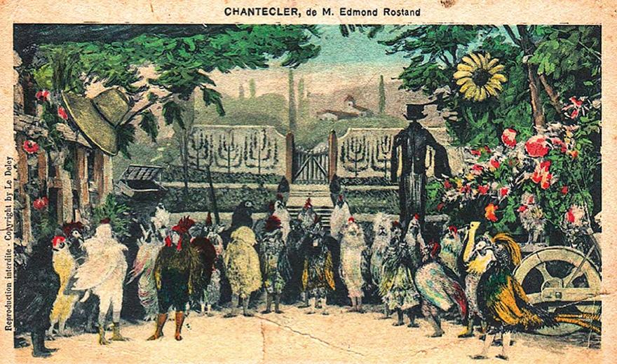 © Coll. musée Edmond Rostand - Villa Arnaga, CHANTECLER, Le Festin #97