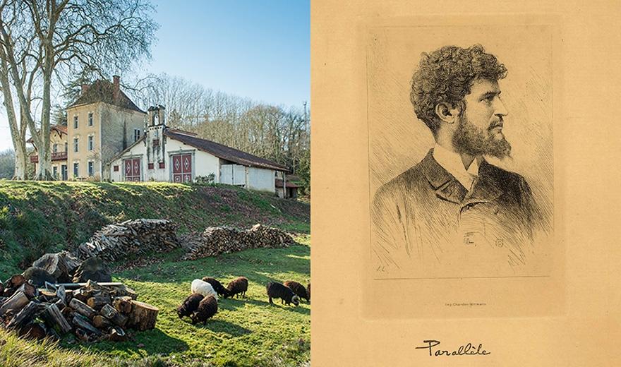 © Alban Gilbert, Jean Rameau au Pourtaou, à Cauneille, Le Festin #97