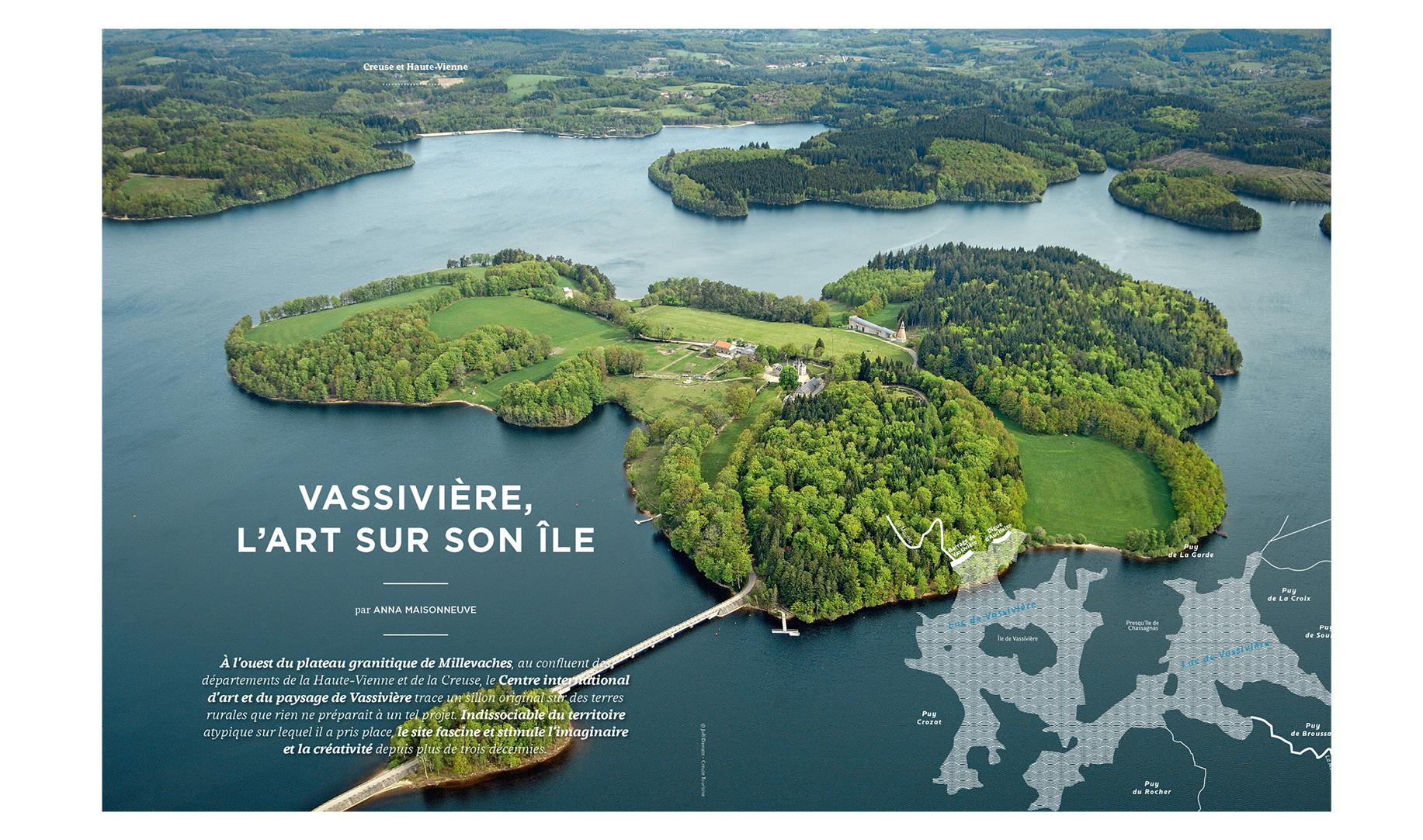 Centre international d'art et du paysage de Vassivière