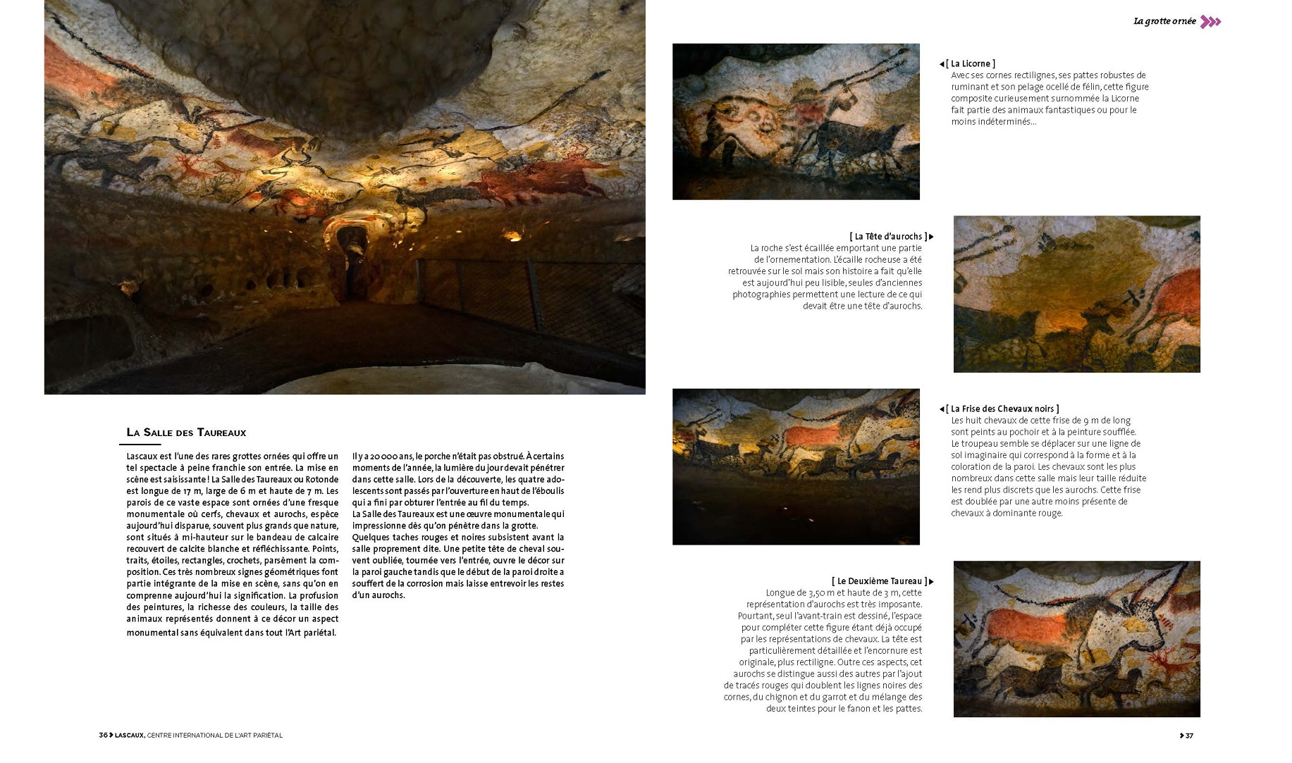 Lascaux, Centre International de l'Art Pariétal